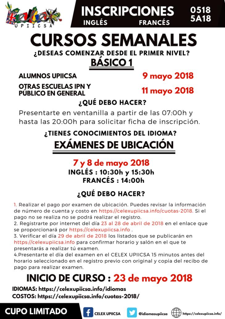 Copia de CONVOCATORIA CURSOS SEMANALES