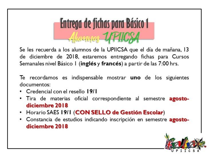 ENTREGA BASICO DICIEMBRE 2018